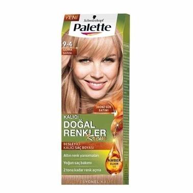 Palette Doğal Renkler 9-4 Sahra Sarısı Saç Boyası Sarı